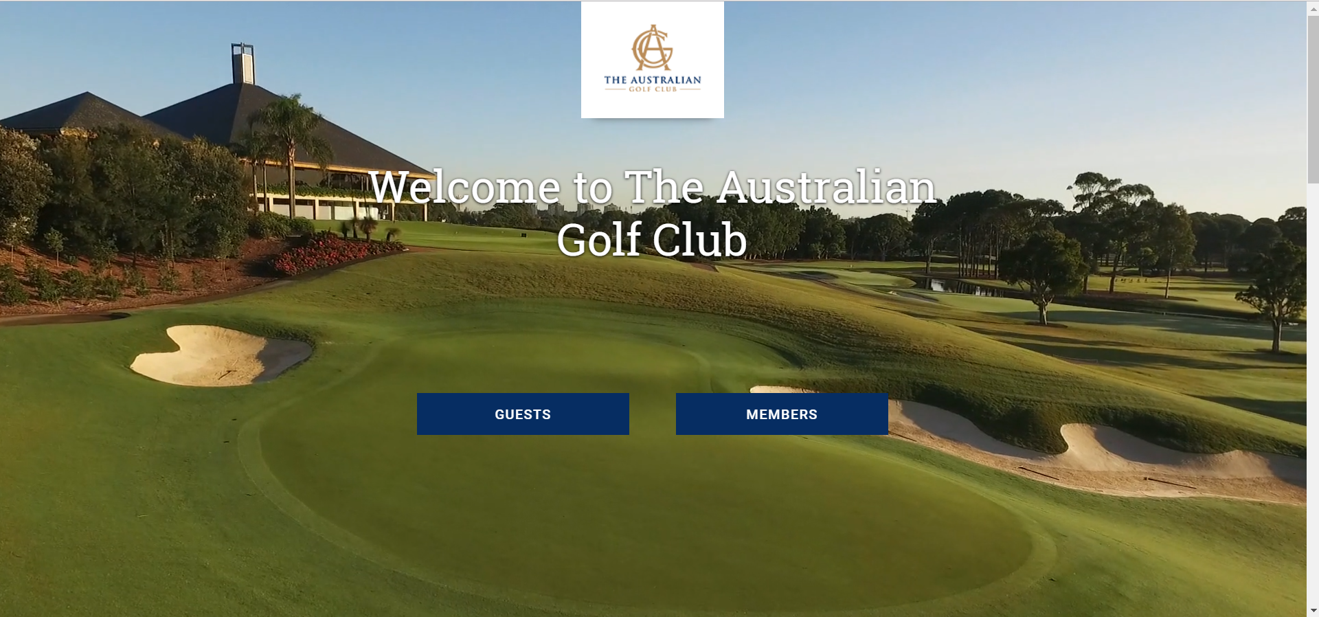 The Australian Golf Club Website