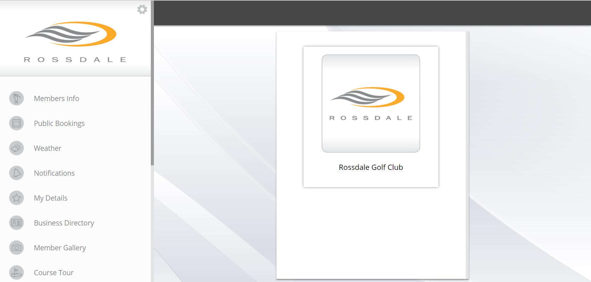 Rossdale web app