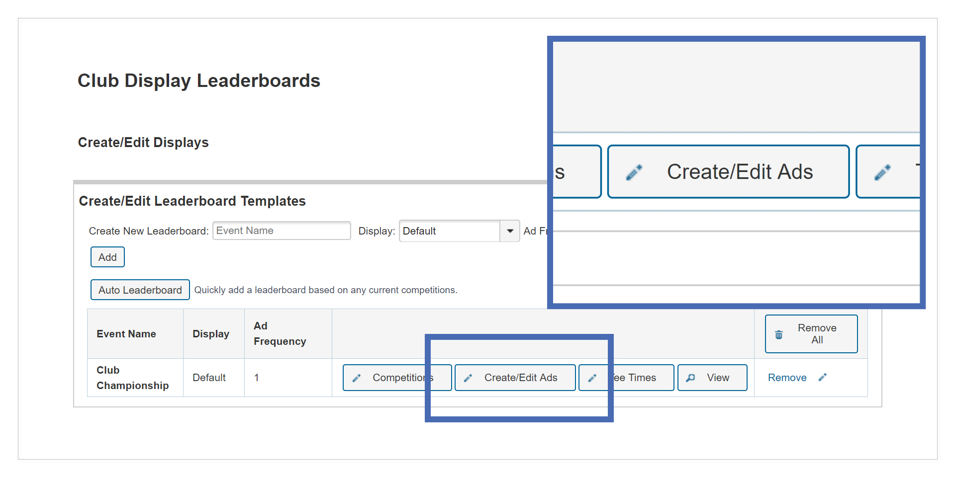 Create/Edit Ads