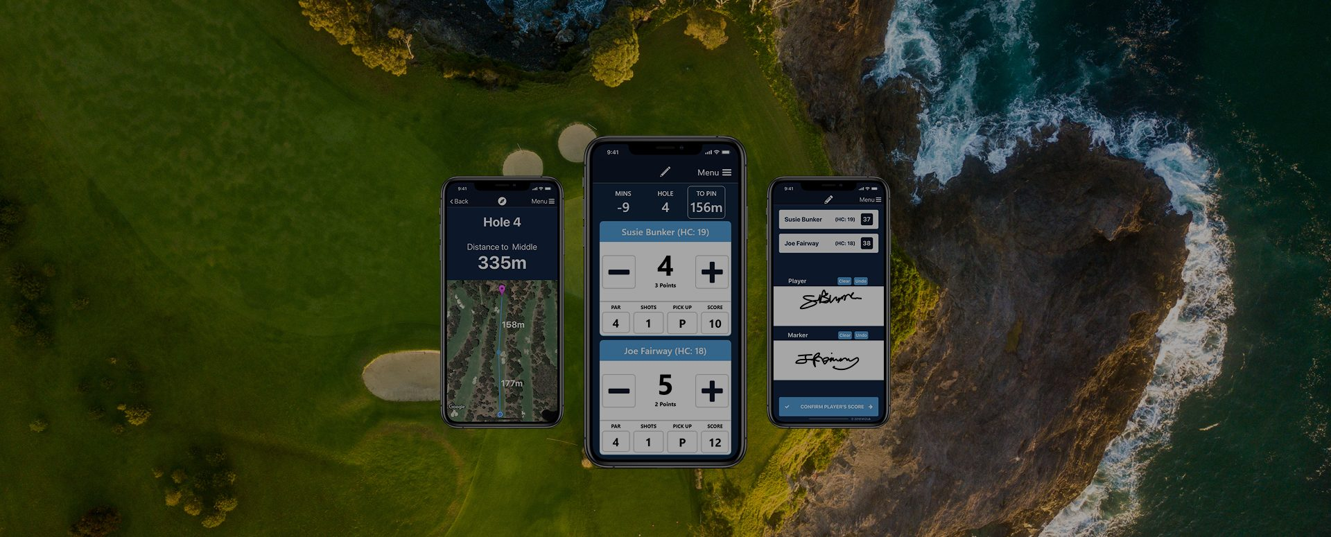 MiScore App - Golf Scorecard and GPS App