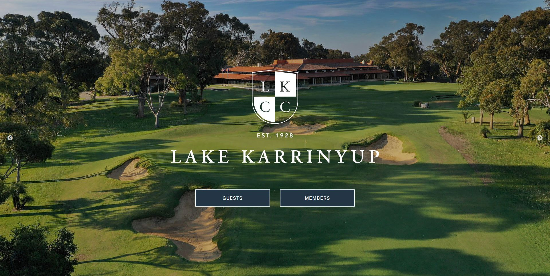 Lake Karrinyup Golf Club Website
